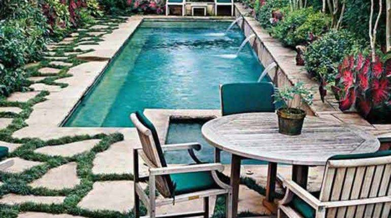 Fabulous Small Backyard Designs Swimming Pool