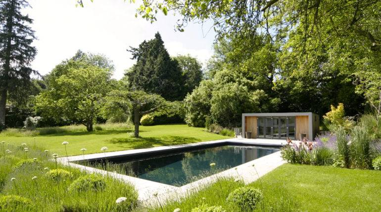 Garden Design Contemporary Swimming Pool