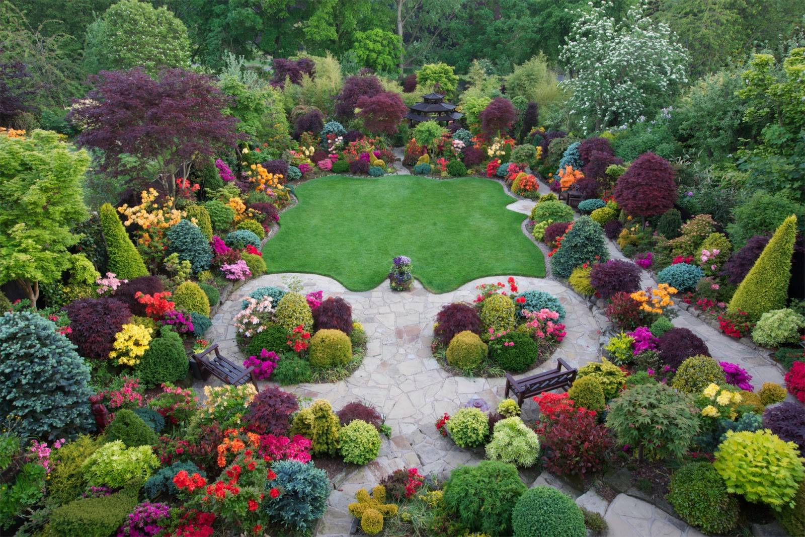 Garden Most Beautiful Home Gardens World