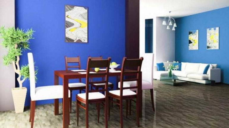Latest Interior Paint Color Trends Blue Wall Your