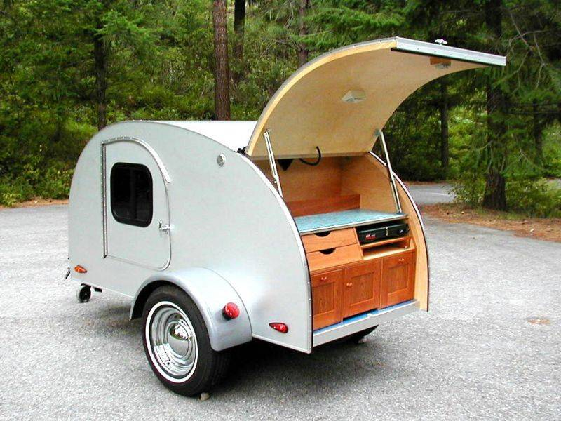 Teardrop Camping Trailers Which Proud Have Loads Fun